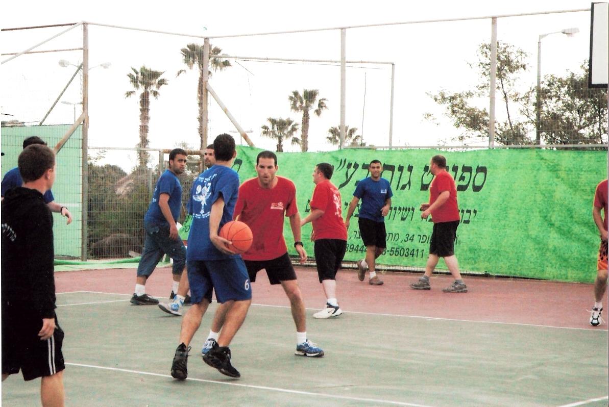 משחק כדור סל בנצח יהודה