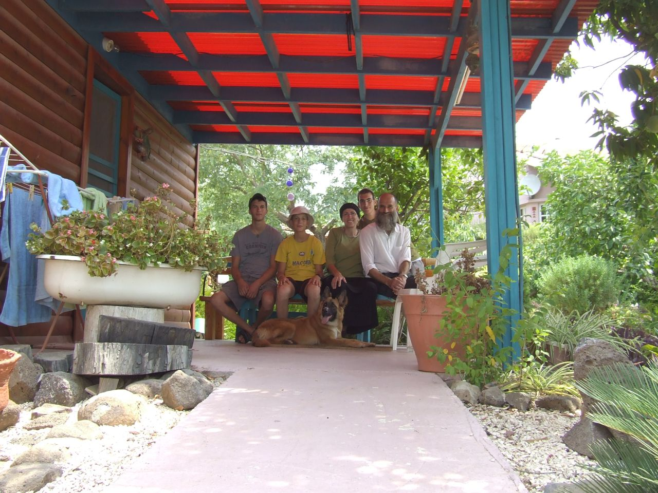 קיץ תשסז חופשה משפחתית בחד נס