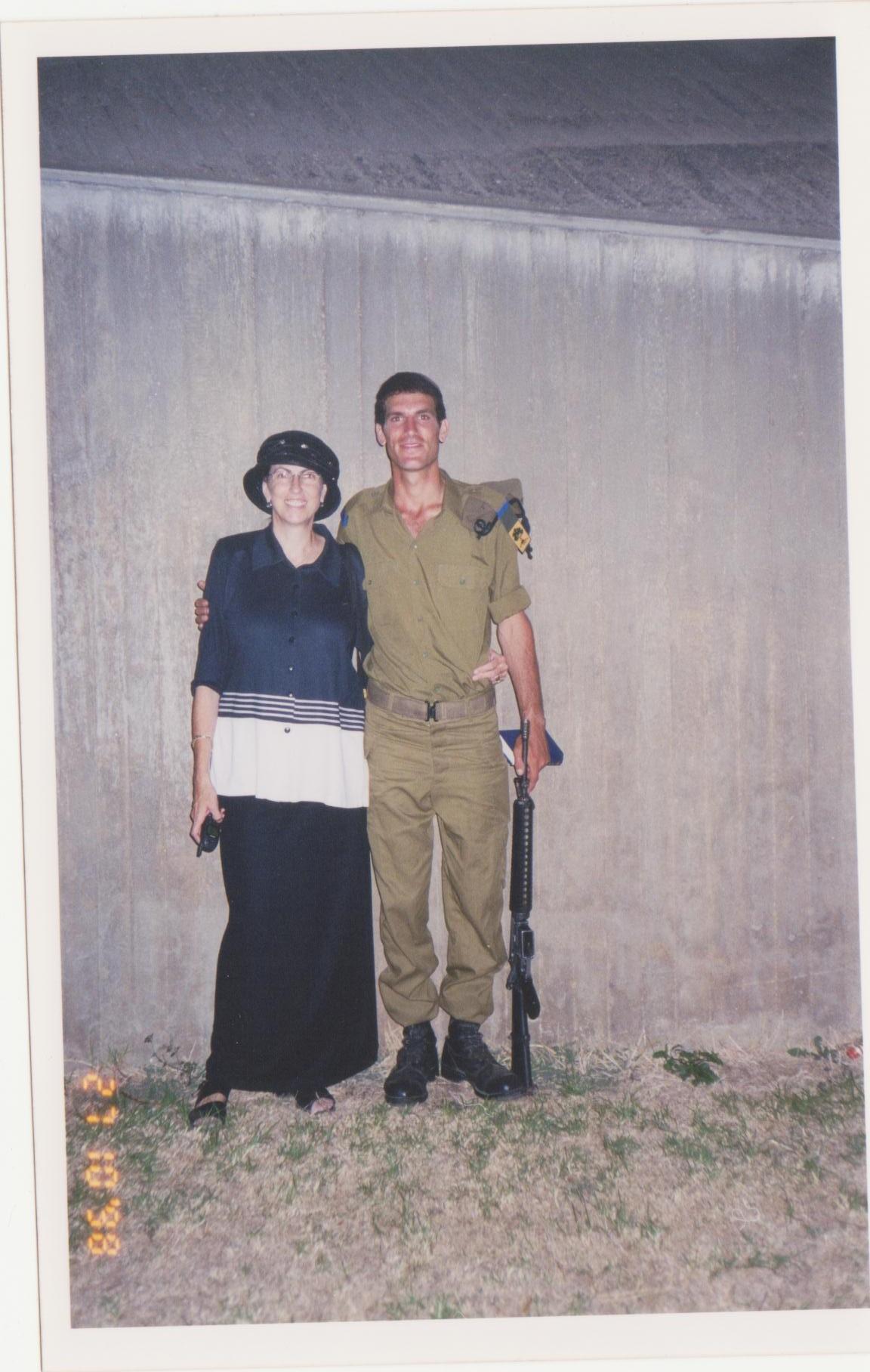 עם אמא אחרי מסע כומתה