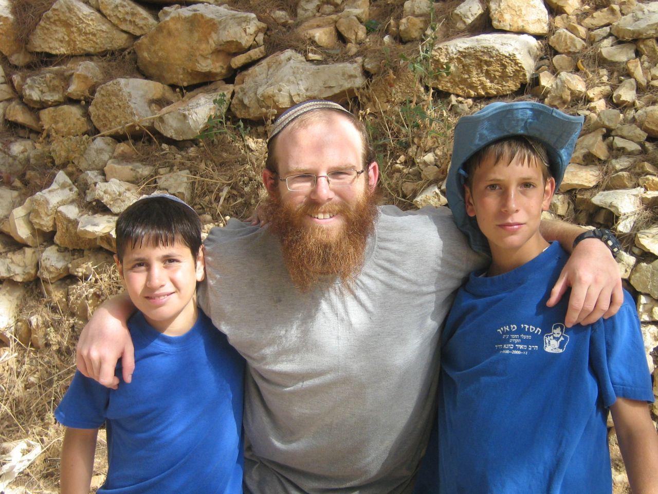 קיץ תשסז ישי בן 12 עם אלקנה פרל ודניאל מינץ