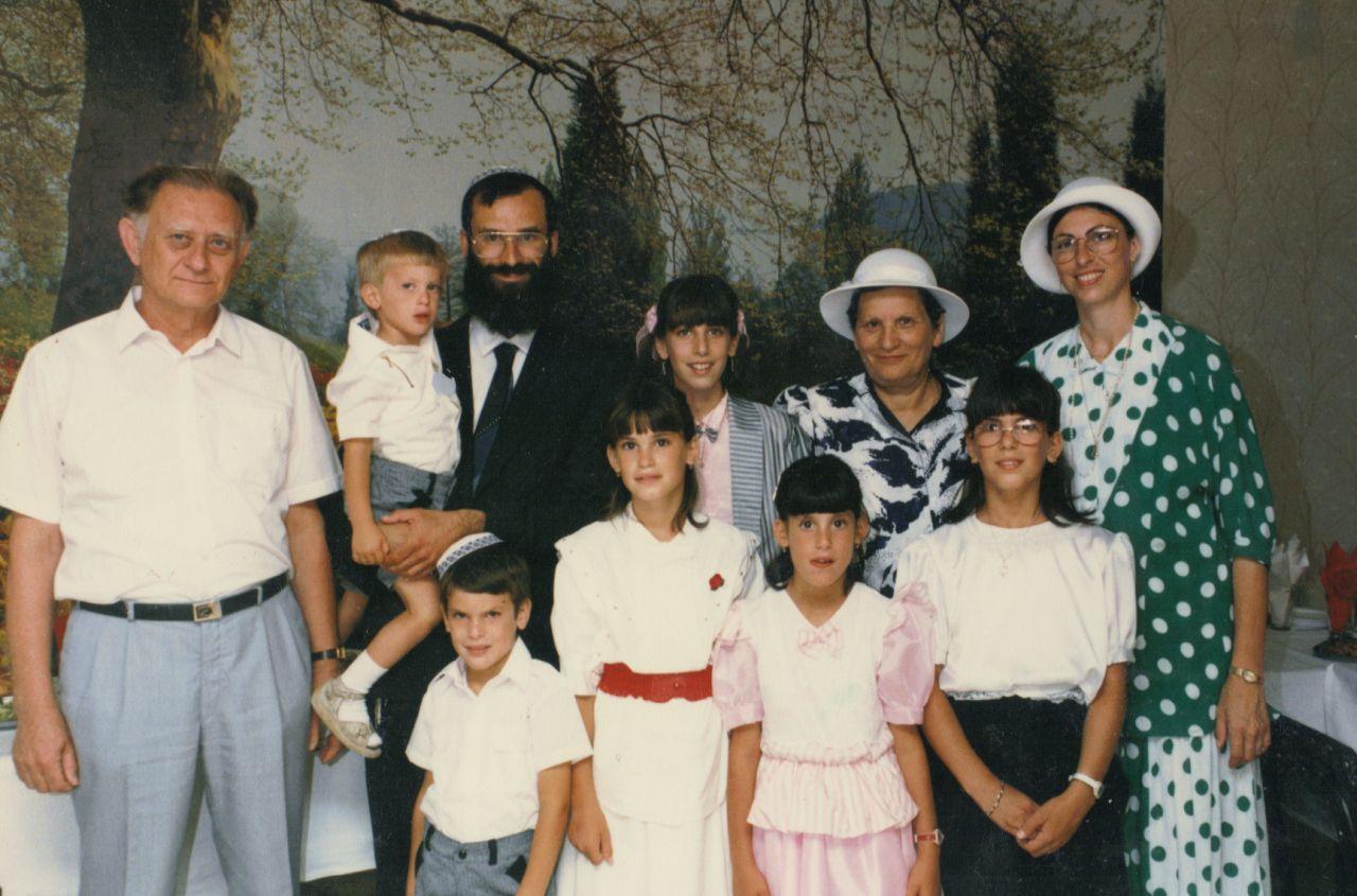 אייר תשמח המשפחה וסבא וסבתא בבת מצווה של יפעת