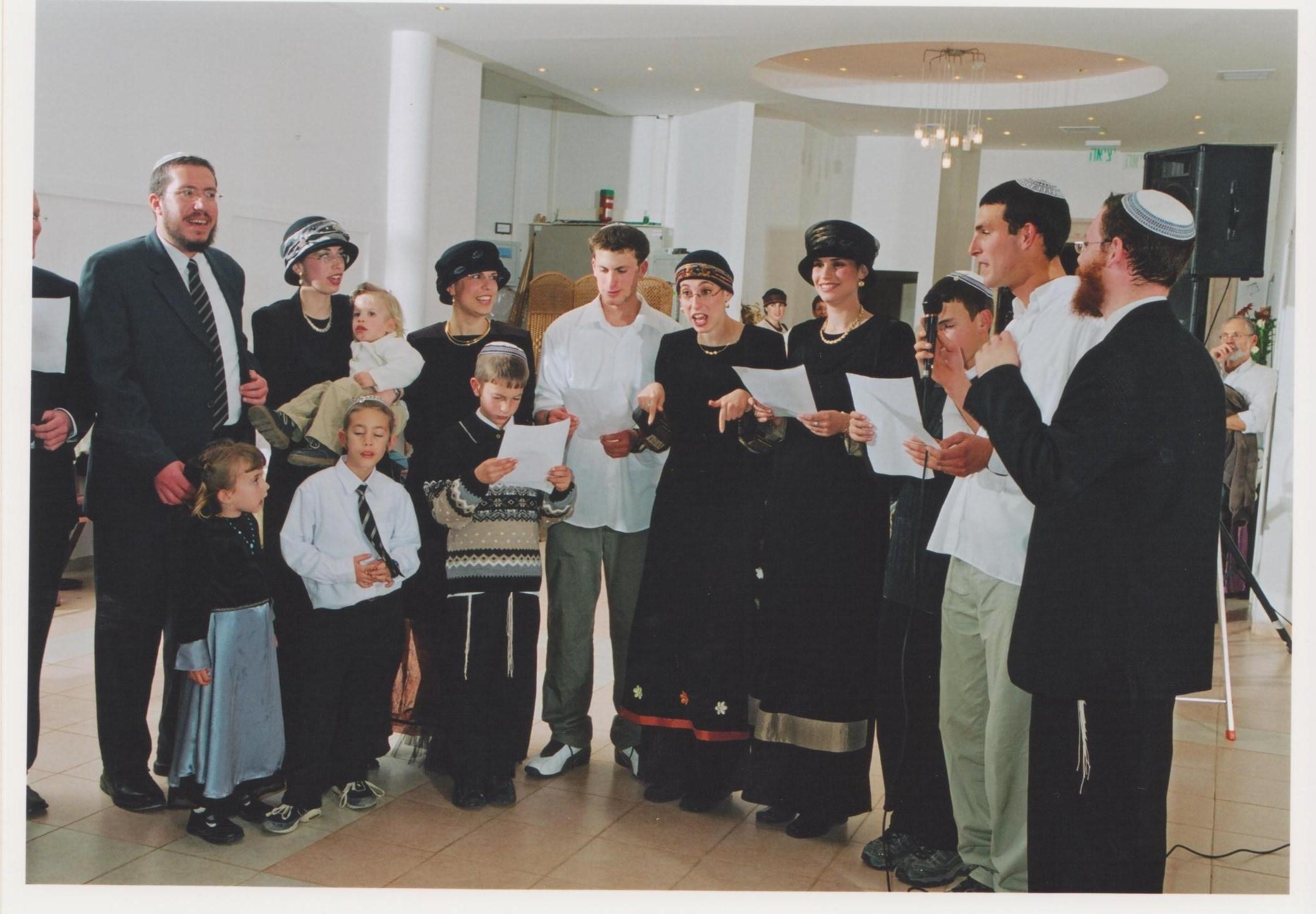 שבט תשסד שלמה והמשפחה שרים לחגי בר המצווה