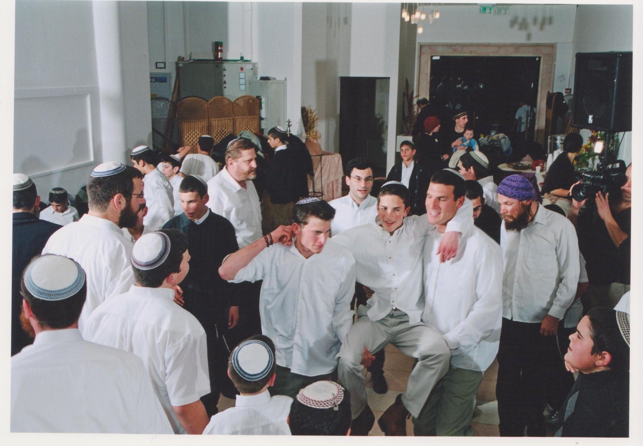 שבט תשסד שלמה בריקודים בבר מצווה של חגי
