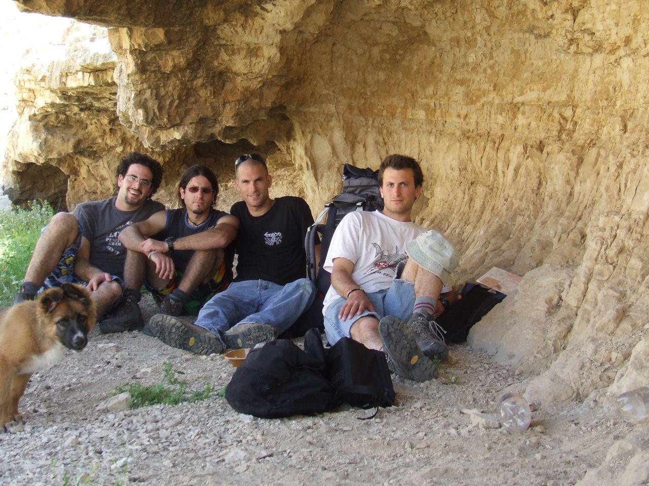 שלמה עם יצחק אלפסי ופוקס בנחל עוג