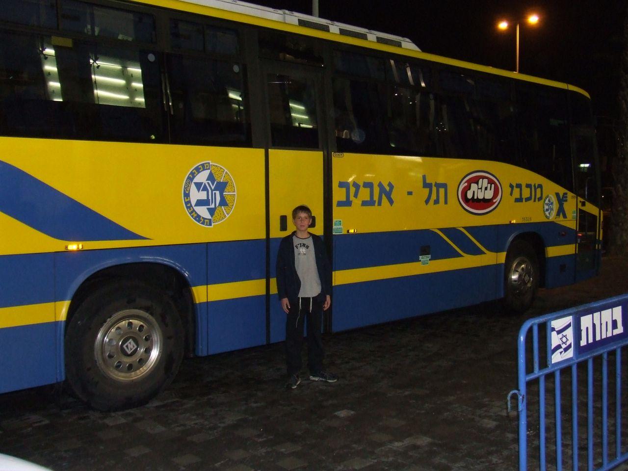 תשסז ישי בן 11 וחצי במשחק של מכבי תל אביב