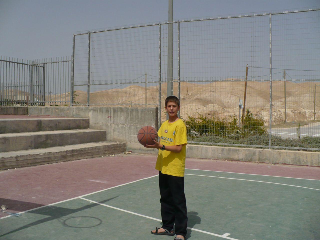 קיץ תשסז ישי בן 12 שחקן כדורסל מצטיין