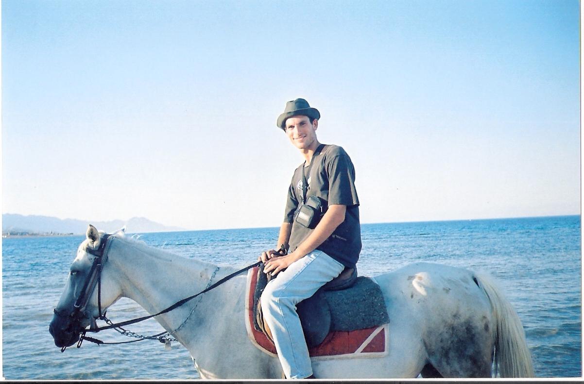 רכיבה על סוסים בסיני