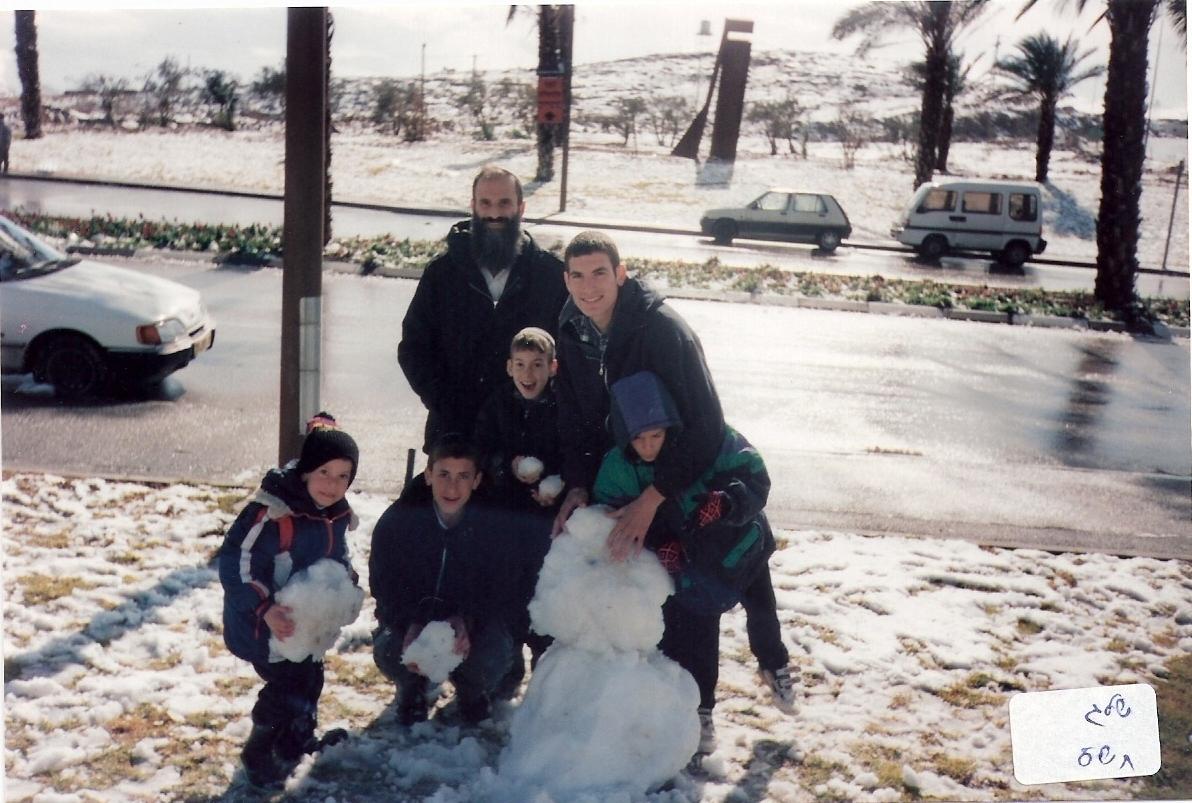 חורף תשס שלג בירושלים