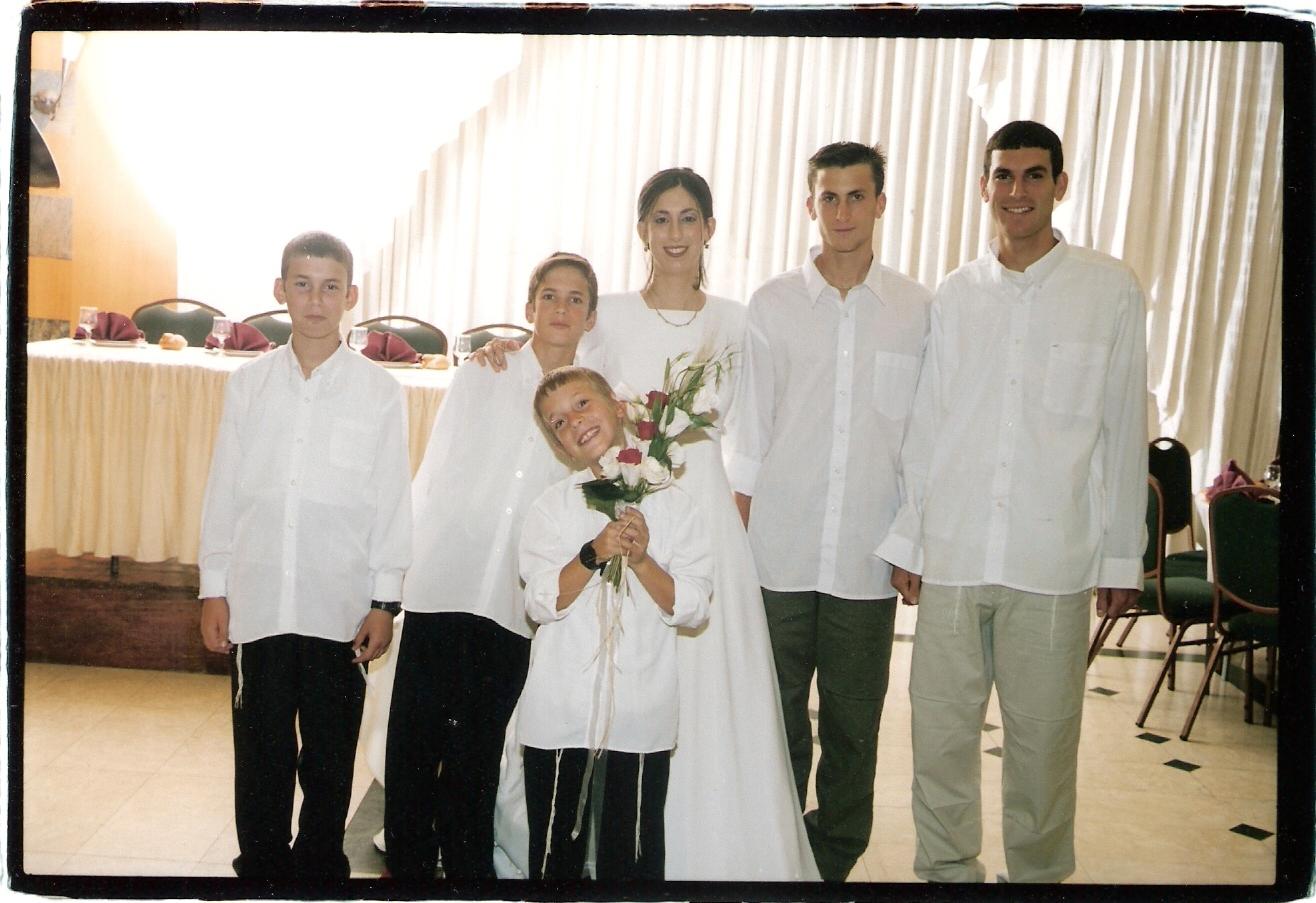 חשון תשסג הבנים בחתונה של אילת