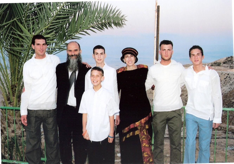 ניסן תשסה הבנים וההורים בבר מצווה של אריאל