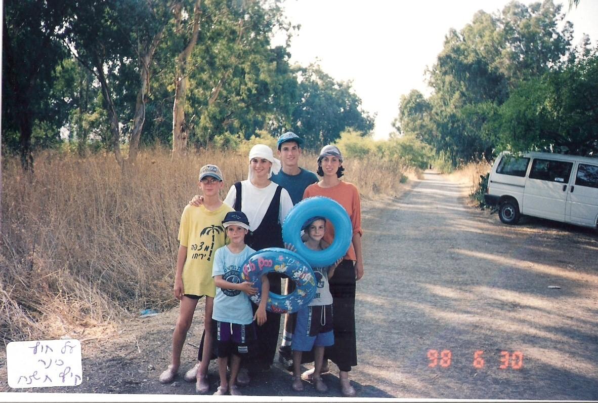 קיץ תשנח המשפחה בדרך לכינרת