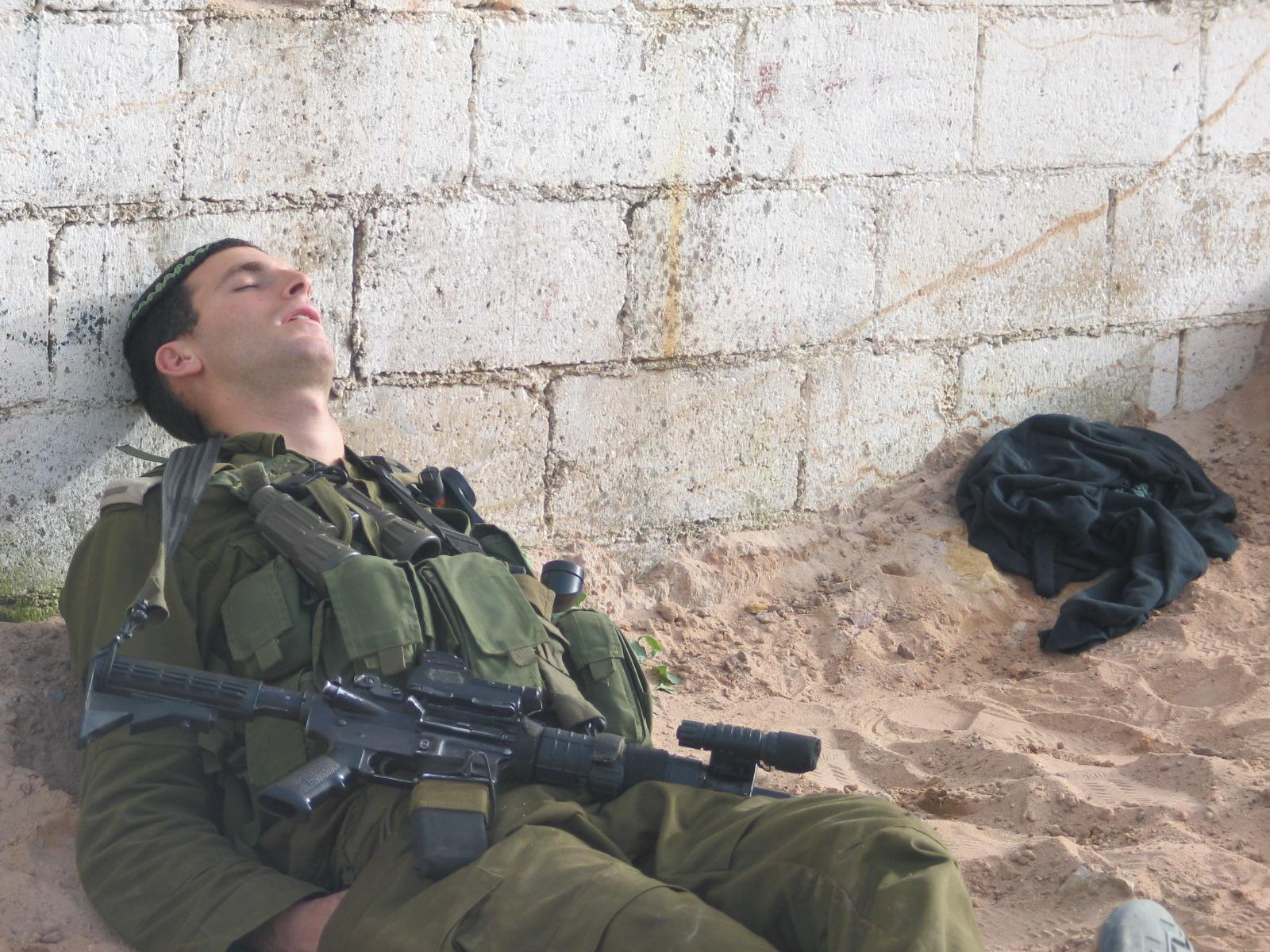 מנוחת הקצין הלוחם