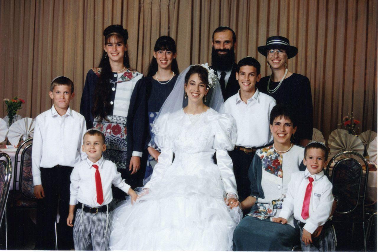חשון תשנו המשפחה בחתונה של יפעת
