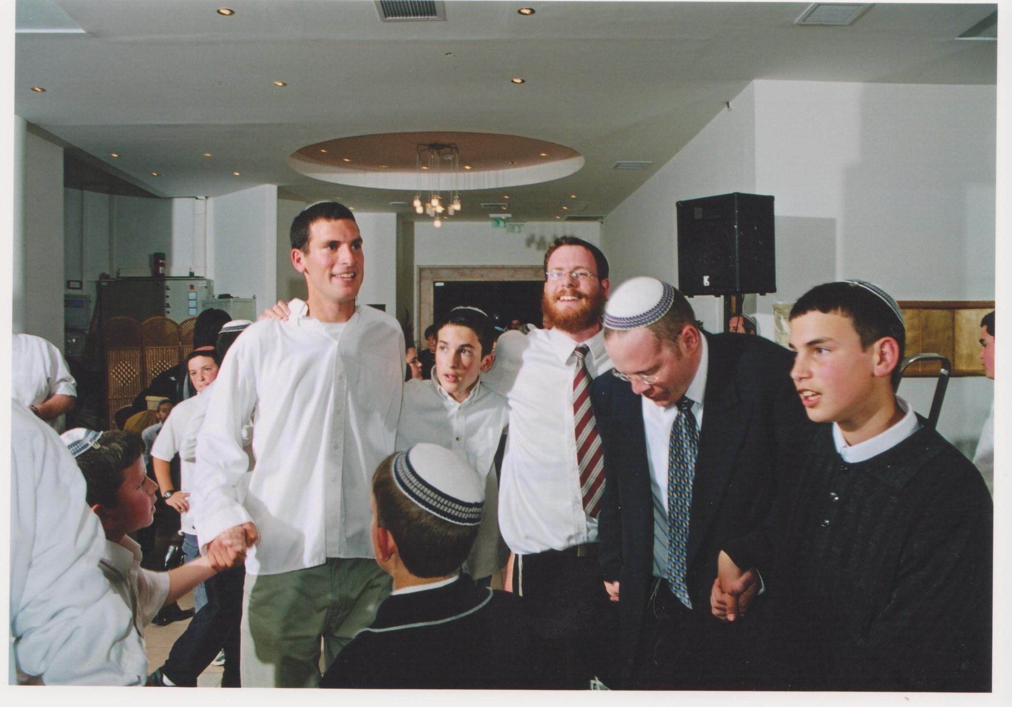 שבט תשסד שלמה עם חגי חמי הראל אריאל וישי בבר מצווה של חגי