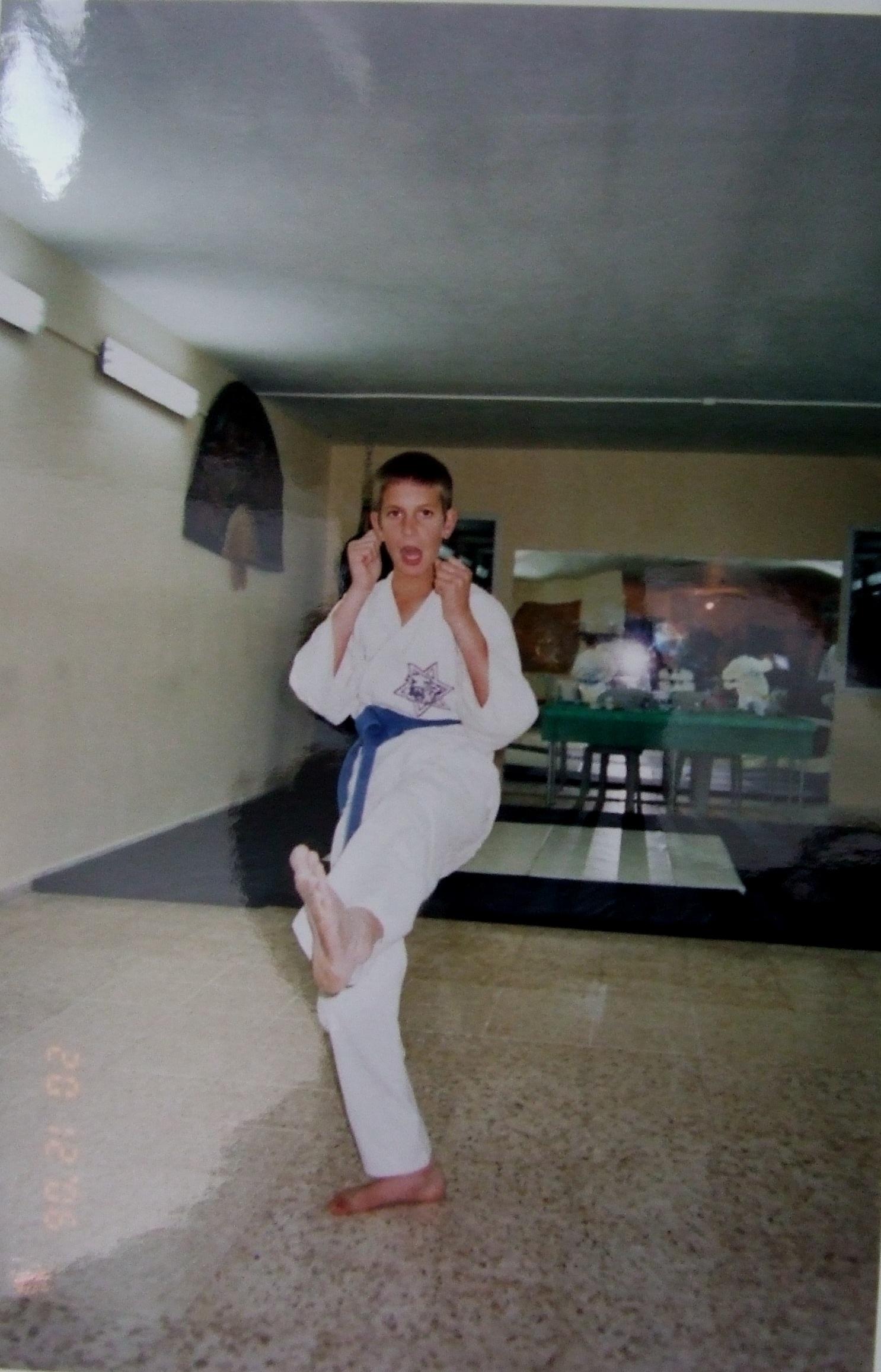 קיץ תשסה ישי בן 10 במבחני קונג פו