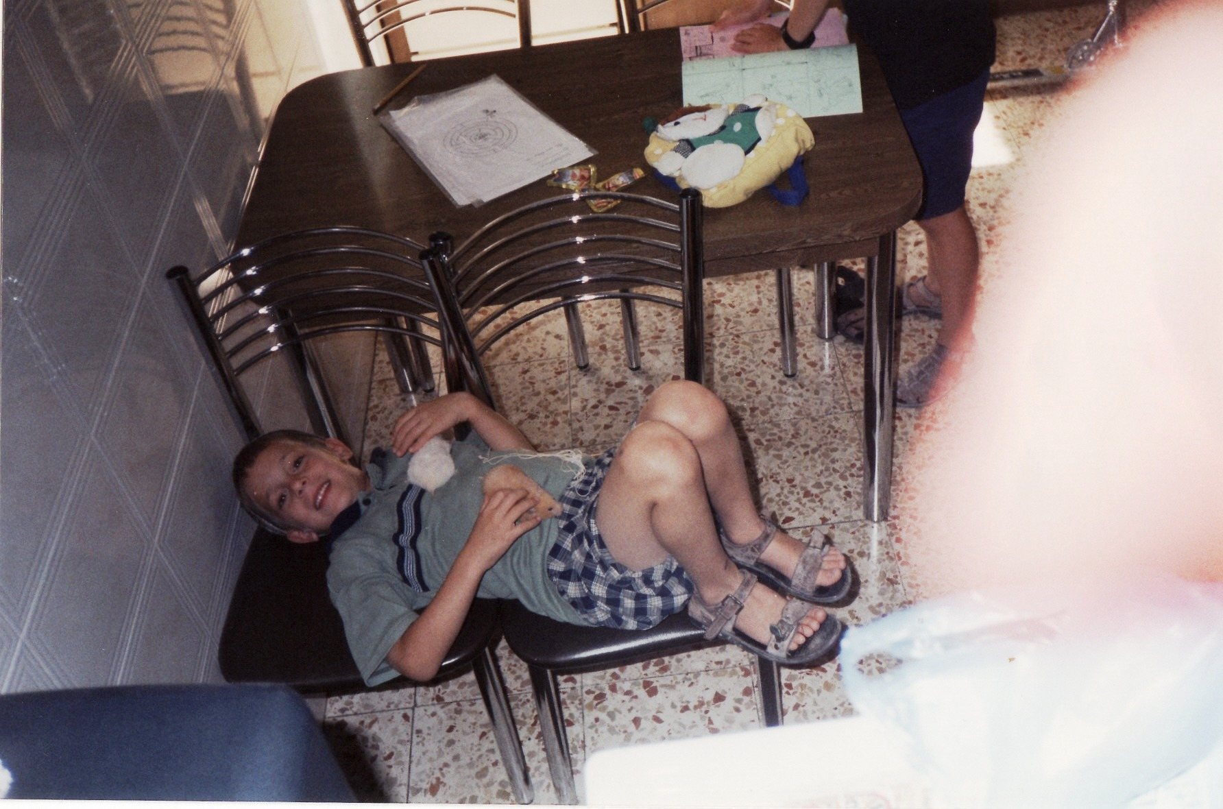 תשסא ישי בן 6 עם האוגרים מוקה ווניל